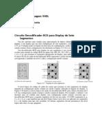 5ª Aula Prática - Projeto Decodificador BCD para Display de Sete Segmentos em VHDL