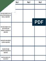 Objectivity Grid