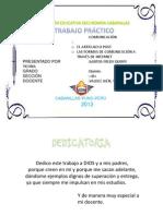 EL ARTICULO - FORMAS DE COMUNICACIÓN