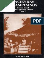 José Bengoa - Haciendas y Campesinos_ Historia Social de la Agricultura Chilena Tomo II
