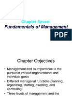 Chapter 07- Fundamentals of Management
