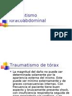 Traumatismo toracoabdominal