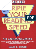 Triple Your Reading Speed-Mantesh