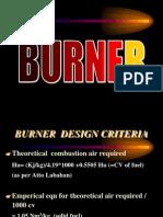 2. Burner Design Criteria
