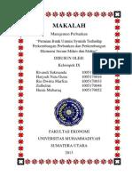 Peranan Bank Umum Syariah Terhadap Perkembangan Perbankan Dan Perkembangan Ekonomi Secara Mikro Dan Makro