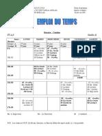 Emploi dutemps modèle B fr ( 4eAP)