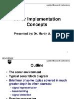 Mazur Sonar Implementation