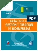 Guia Para La Gestion y Creacion de Bioempresas