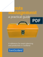 Events Management a Practical Guide