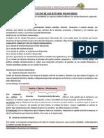 Aplicación de la NIC 1- PRESENTACION DE LOS ESTADOS - RESUMEN