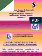 PROGRAMA SAMUEL ROBINSON 2013.ppt