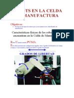 Robots en La Celda de Manufactura_cnc