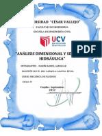 Analisis Dimensioanl y Semejanza Hidraulica - Copia