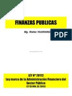 Finanza Publicas