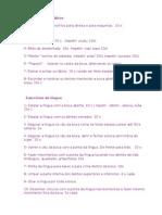 Exercicios de Lingua e Labios