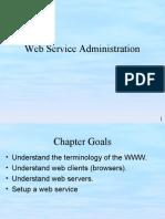 chap 5 web service administration