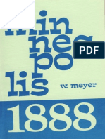 MINNEAPOLIS 1888 -- Wolfgang Meyer ( 1978)