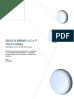 Ciencia Inovacion y Tecnologia