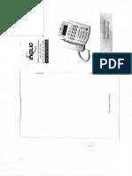Manual Utilizare Telefon HCD136