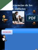 Consecuencias de Los Conflictos