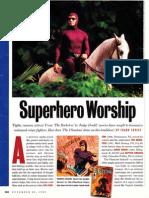 "Reviews - Superhero/comics movies ""The Phantom,"" ""Judge Dredd,"" ""The Rocketeer,"" ""Captain America"" (1992), ""The Punisher"" (1991), ""Tank Girl"""