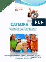 Catedra as Coperta