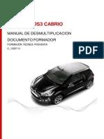 C_13207_U Manual Desmultiplicación Novedad DS3 Cabrio