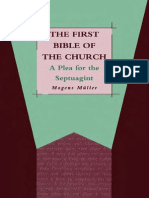 129899688 Journal for the Study of the Old Testament Supplement 206 Mogens Muller First Bible of the Church a Plea for the Septuagint JSOT Supplement 206