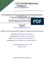 Dictatorship of Primo de Rivera. Journal of Contemporary History-1977-Ben-Ami-65-84