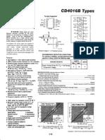 IC-4016 (4 Puertas Analogicas Independientes)