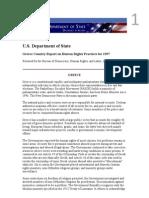 USDS HR Report Greece 1997
