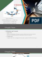 e Supply Chain