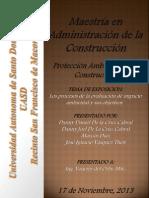 Los procesos de la evaluación de impacto ambiental y sus objetivos