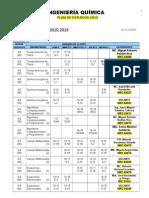 IQ Horarios (Febrero - Julio 2014) PLAN 2010
