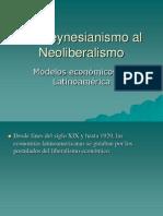 Del Keynesianismo Al Neoliberalismo 20121