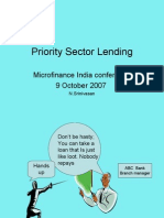 Priority Sector Lending NS