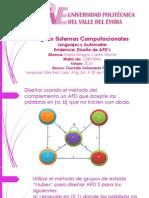Diseño de AFDS