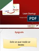 Lean Startup Emprender Agilmente