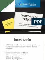 """Fenómeno de """"El Niño"""" - Enfoque Fisicoquímico"""