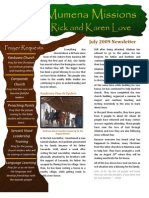 Love Newsletter 2009-07