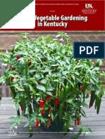 Home Vegetable Gardening in Kentucky