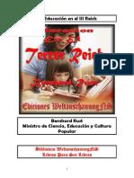 Rust Benrhard-La Educación en el III Reich