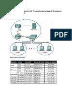 4.5.2 Protocolos de La Capa de Transporte TCP-IP, TCP y UDP