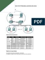 3.4.3 Laboratorio Protocolos y Servicios de E-mail
