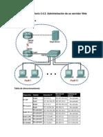 3.4.2 Laboratorio Administración de un servidor web