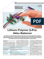 LiPo Balancer - Bauanleitung