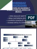 Shcp y Banco de Mexico
