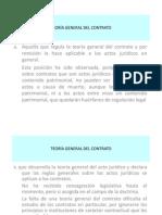 Teoria General de Contrato