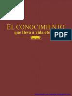 1995 El Conocimiento Que Lleva a Vida Eterna v Baja