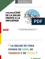 Promocion de La Salud INFLUENZA